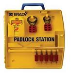贝迪安全锁具 便携式锁具中心 含5把安全挂锁 105928