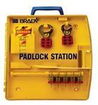 贝迪安全锁具 便携式锁具中心 含5把钢制挂锁 105929