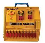 贝迪安全锁具 便携式锁具中心 含10把安全挂锁 105930
