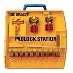 贝迪安全锁具 便携式锁具中心 含10把钢制挂锁 105931
