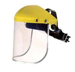 防化防冲击面屏 代尔塔 101304 防护面屏 面具 防护屏 面部防护 防护用品
