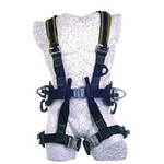 霍尼韦尔 全身式救援安全带 配有定位腰带 1003438 安全带 全身安全带 个人防护