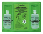 16盎司双瓶装洗眼液配Honeywell挂板 霍尼韦尔 32-000465-0000 洗眼液 护理液 护目液 清洗液  清洗用品