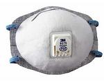 P95 防护口罩(带呼气阀) 头带式 防酸性气体及颗粒物 3M 8576 防病菌口罩 防毒口罩 口罩 劳保口罩 防护口罩 呼吸防护