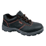 代尔塔 低帮单钢安全鞋 301501 经典系列低帮牛皮防砸,防静电安全鞋