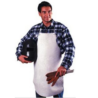 焊工防护 个人防护 焊工牛皮围裙 405015 身体防护 防护围裙 焊工工作服 皮围裙