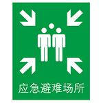 标准安全标识牌 警示牌 提示牌 应急避难场所 标志牌 指示牌