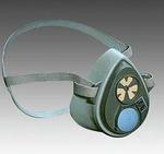 3000系列 半面罩式防毒面具 中号 3M 3200 防毒面罩 防流感面罩 防颗粒物面罩 防护面罩 呼吸防护 正规产品  劳保专用 厂家直销