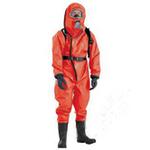 代尔塔 气密重型防化服(外置呼吸器型) 401036 防化服 安全防护服 劳保服装