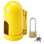 贝迪安全锁具 气源锁具 气瓶锁 16.5cm*8.9cm*11UN 高压粗螺纹 95138
