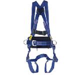 霍尼韦尔 双挂点标准型全身式安全带(配定位腰带) 1011894A 个人防护 安全带 坠落防护