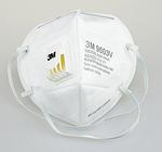 折叠式带阀颗粒物防护口罩 耳带式 3M 9003V 口罩 劳保口罩 防病菌口罩  防毒口罩 防护口罩 呼吸防护 劳保用品