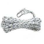 代尔塔 操作定位系绳 30m 安全绳 坠落防护 个人防护套装 安全绳索 攀登绳索