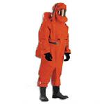 代尔塔 气密重型防化服(内置呼吸器型) 401030 防化服 个人防护 劳保用品