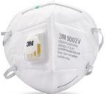 KN90/P1 折叠式带阀防尘口罩 头带式 3M 9002V  防尘口罩  防病菌口罩 劳保口罩 防毒口罩 防护口罩 呼吸防护 PPE
