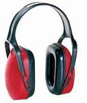 Mach系列 防噪音耳罩 红色 经济型 霍尼韦尔 1010421 耳罩 防噪声耳罩 降噪 隔音耳罩 听力防护 防护劳保用品