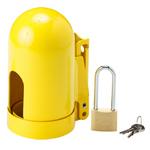 贝迪安全锁具 气源锁具 气瓶锁 16.5cm*7.9cm*11UN 低压细螺纹 95137