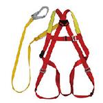 霍尼韦尔 单挂点集成式全身安全带 DL-C1 登山 工地 高空作业安全带