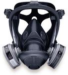 硅胶全面罩 中号 霍尼韦尔 762000 防毒面罩 防病菌面罩 防护面罩  全面罩 呼吸防护 个人防护 PPE