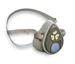 3000系列 半面罩式防毒面具 小号 3M 3100 防流感面罩 防颗粒物面罩 防护面罩 劳保专用 呼吸防护 正品 专业产品  原装