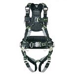 霍尼韦尔 三挂点风电专用全身式安全带,配有定位腰带 1015604 安全带