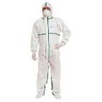 代尔塔 限次性无纺布连体服(胶条型)406012 工作服 安全防护服 劳保用品