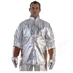 代尔塔 防金属喷溅隔热上衣 402015 镀铝涂层阻燃复合面料(不含手套)个人防护