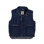 代尔塔 保暖马甲 405104 藏青色 涤棉保暖马甲 聚酯棉 户外专用 个人防护用品