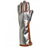 代尔塔 TERK 400N 隔热焊工手套 205400 皮掌面掌背镀铝涂层 抗导热 抗辐射