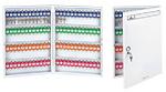 杰丽斯安全锁具 钥匙箱 壁挂式72位钥匙箱 450x380x52mm 8704