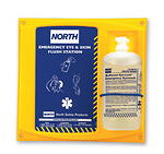 32盎司单瓶装洗眼液配North挂板 霍尼韦尔 127032C 洗眼液 护目液 清洗用品 清洗液  眼部防护