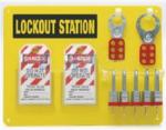 贝迪安全锁具 5锁挂板  配钢制挂锁 29.2cmx39.4cm 51186