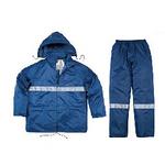 代尔塔 欧款设计聚酰胺雨衣 带反光条 407004 防护服 安全防化服 劳保服 工厂供应