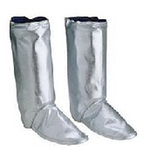 Delta Plus 代尔塔 隔热靴套 402018 隔热连体套装 阻燃 铝色 靴套 个人防护靴