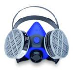 硅胶半面罩 中号  霍尼韦尔 B260000 防病菌面罩 防护面罩 劳保面罩 半面罩 呼吸防护 劳保用品 PPE