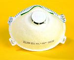 FFP2舒适型带阀口罩 霍尼韦尔 1005586 防尘口罩 防毒口罩 防病菌口罩 防护口罩 呼吸防护