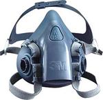 7000系列 硅质半面罩 中号 3M 7502 防尘面罩 防毒面罩  劳保面罩 半面罩 呼吸防护 劳保专用 优质 厂家供应 原厂正品
