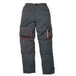 代尔塔 马克2系列全绒衬里长裤 405308 与防寒工作服配套使用 工作装 车间专用