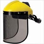 头箍式网格防飞屑防冲击面屏 代尔塔 101306 防护面屏 面具 防护屏  面部劳保用品