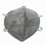 折叠式防颗粒物及有机异味口罩 耳带式 3M 9041A 口罩 防护口罩 防毒口罩 防护口罩  呼吸防护 个人防护 PPE