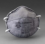 R95 有机气体防护口罩 头带式 3M 8247 口罩 防尘口罩 防毒口罩 防护口罩 劳保口罩 呼吸防护 劳保防护 PPE